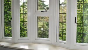 uPVC bay window with double glazing