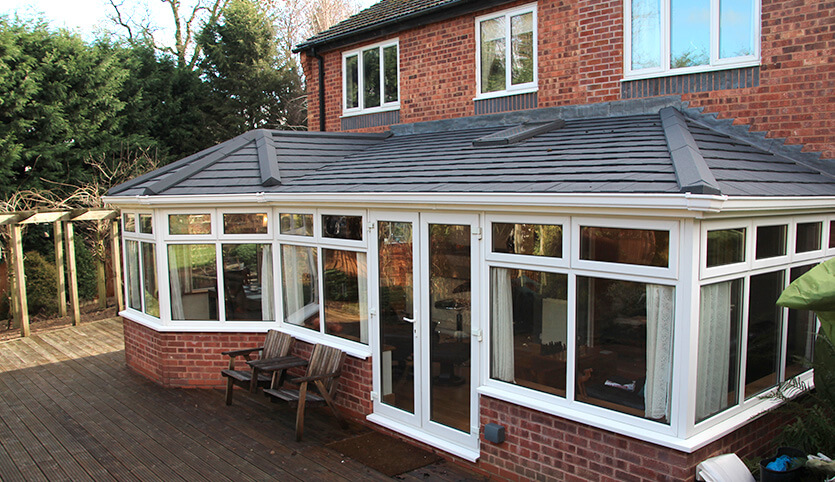 Tiled Roof Fineline Double Glazing Installers Based In