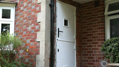 Heritage stable door installation