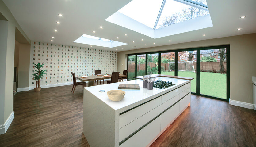 Single Storey Extensions Fineline Double Glazing
