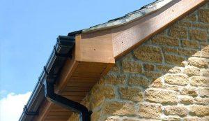 Dual colour uPVC roofline