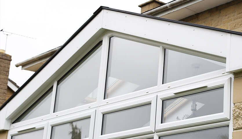triangle windows for sale rear triangle window angled white upvc window up to 35 off bespoke windows in kent south east fineline
