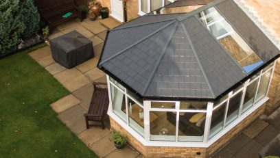 Tiled Victorian conservatory roof