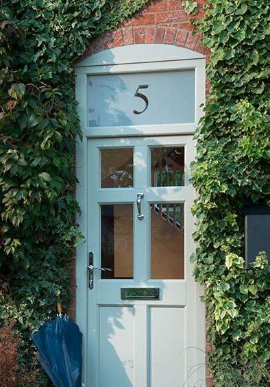 Heritage uPVC entrance door