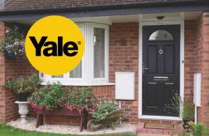Yale logo and door