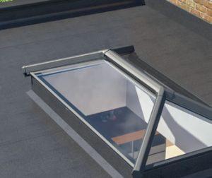 Lantern roof light option